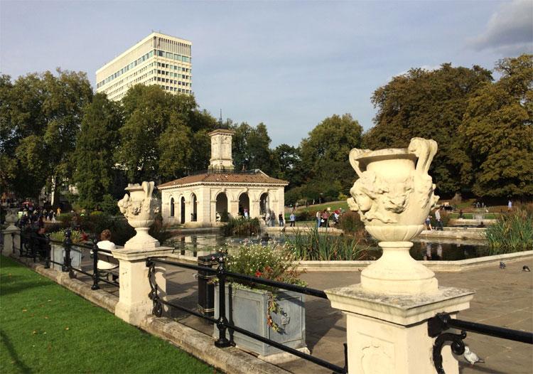 Italian Fountains, Kensington Gardens, London © Andrea David