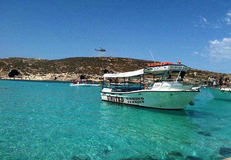 Blaue Lagune, Comino, Malta