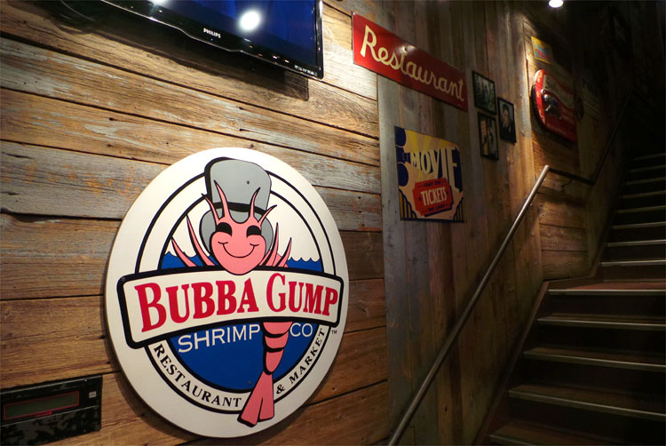 Restaurant Bubba Gump, New York City © Andrea David