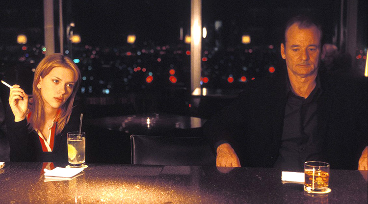 "Filmszene aus ""Lost in Translation"" in der New York Bar, Park Hyatt, Tokio"