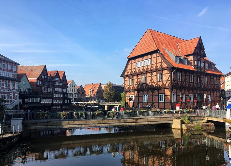 Rote Rosen Drehorte in Lüneburg