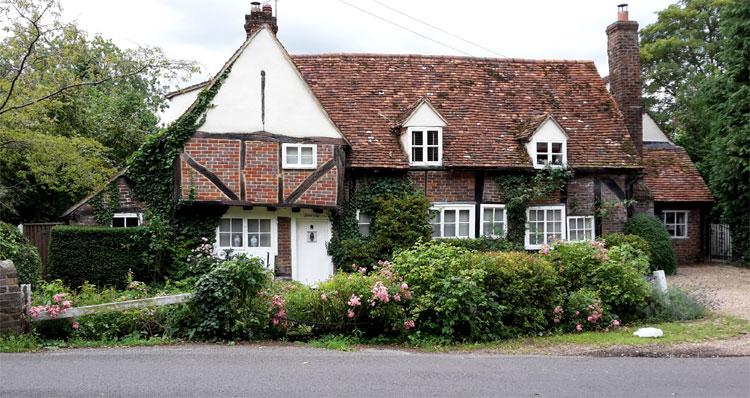 Miss Marple Haus, Misbourne Cottage Denham, England © Wolfgang Kersten