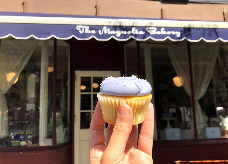 Cupcake aus der Magnolia Bakery, New York City