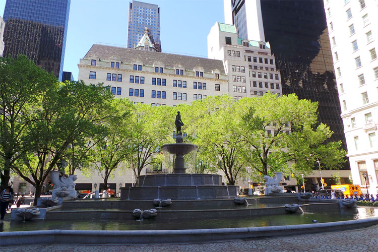 Pulitzer Fountain, Grand Army Plaza, New York City