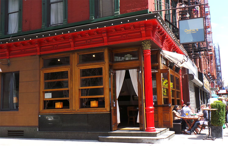 """""""Scout"""" Bar Onieal's, New York City"""