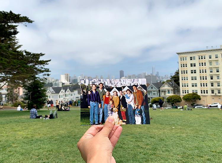 """""""Full House""""-Drehort, Alamo Square, San Francisco"""