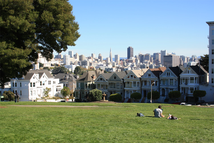 Alamo Square, San Francisco © Andrea David