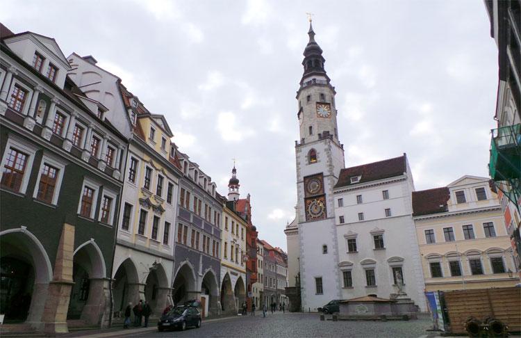 Rathaus und Untermartkt Görlitz, Sachsen © Andrea David