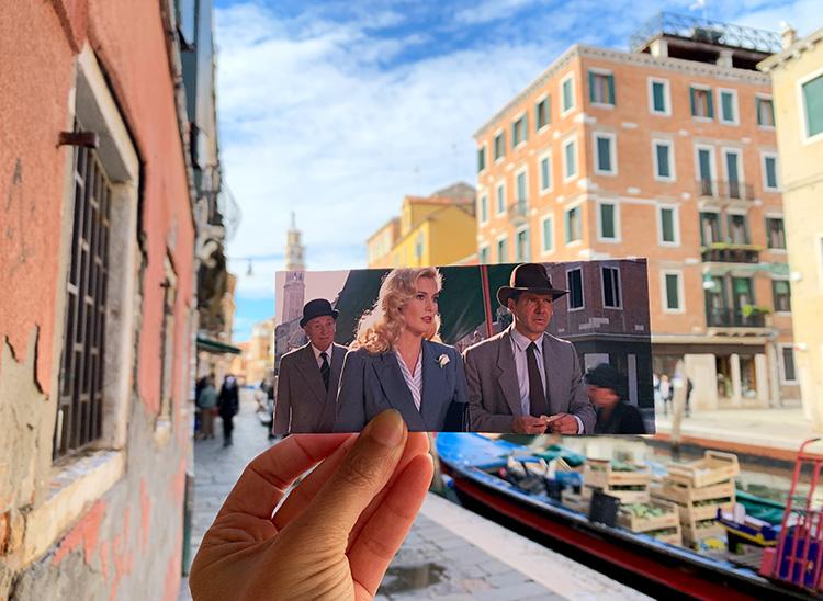 """Drehort aus """"Indiana Jones und der letzte Kreuzzug"""", Rio de San Barnaba, Venedig"""