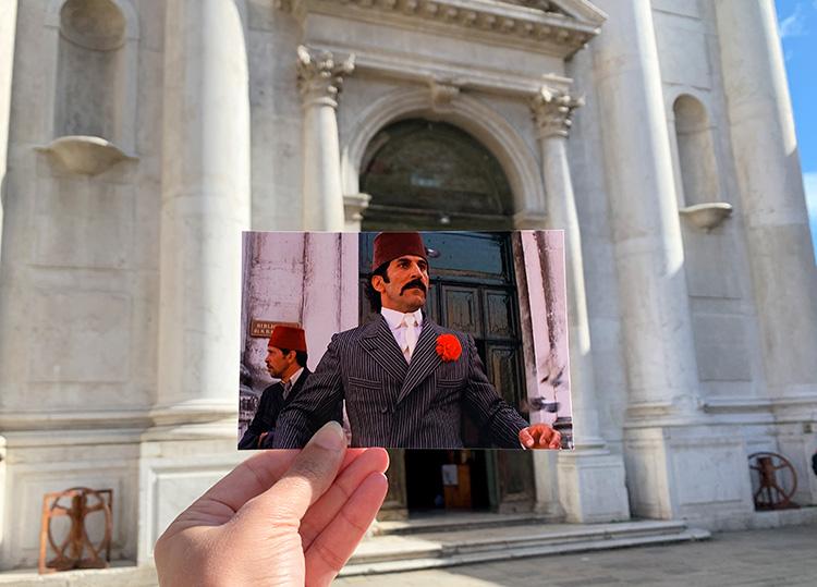 """Drehort aus """"Indiana Jones und der letzte Kreuzzug"""", Campo San Barnaba, Venedig"""