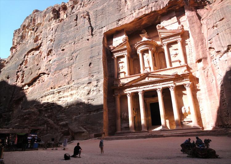 Felsgrab Khazne al-Firaun, Petra, Jordanien