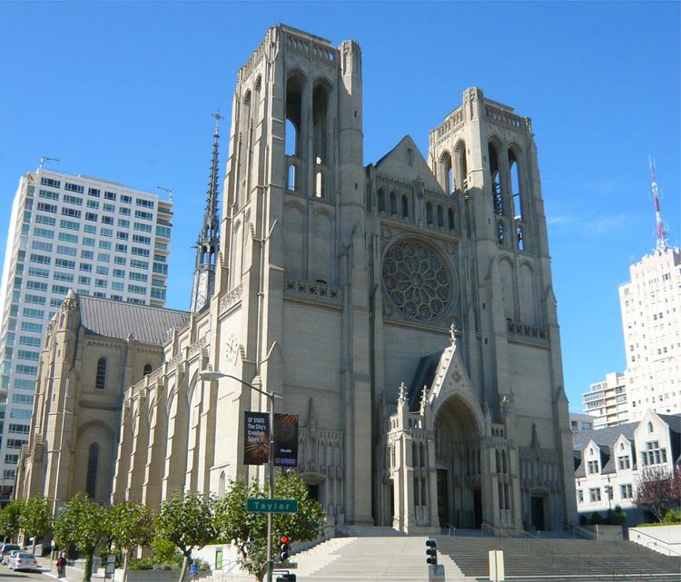 Grace Cathedral, San Francisco © Andrea David