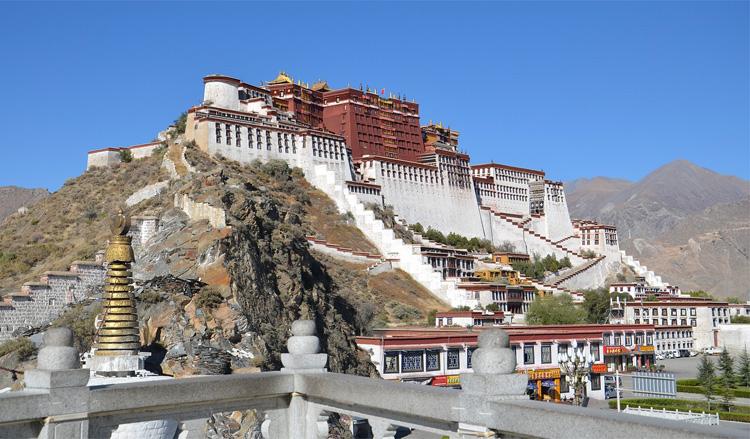 """Drehorte aus """"Sieben Jahre in Tibet"""""""