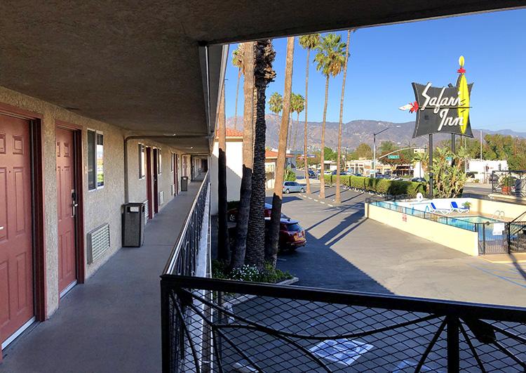 Safari Inn, Burbank, Los Angeles