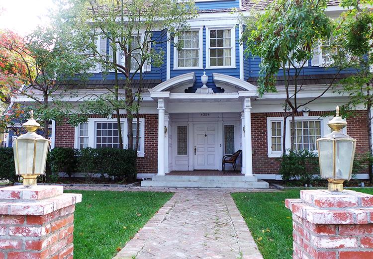 Bree Van de Kamps Haus, Wisteria Lane, Colonial Street, Universal Studios, Los Angeles