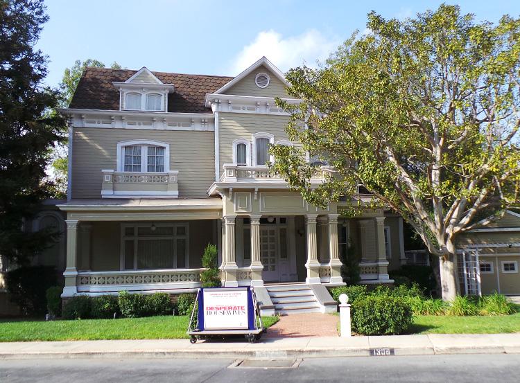 Gabrielle Solis' Haus, Wisteria Lane, Colonial Street, Universal Studios, Los Angeles