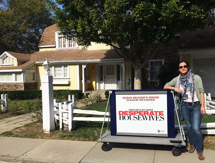 Susan Delfinos Haus, Wisteria Lane, Colonial Street, Universal Studios, Los Angeles