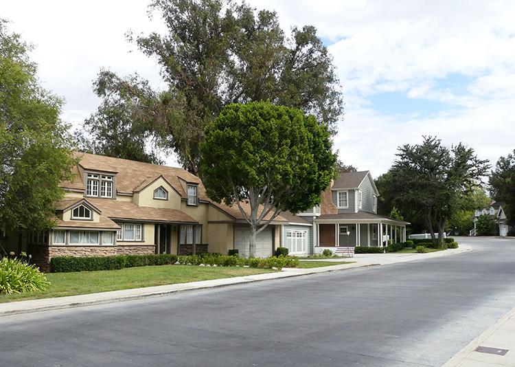 Wisteria Lane, Colonial Street, Universal Studios, Los Angeles