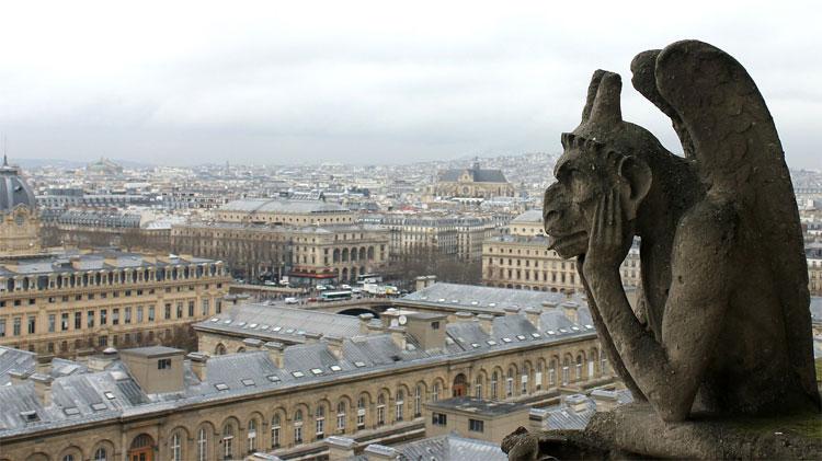 Blick von der Kathedrale Notre-Dame, Paris © Andrea David