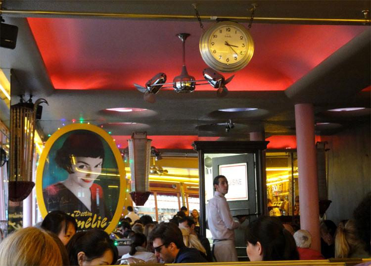 Amelie Cafe Paris