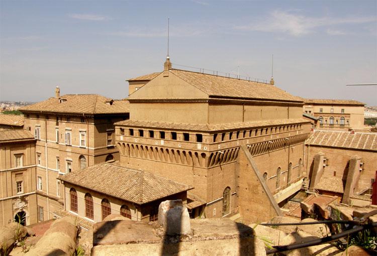 Sixtinische Kapelle, Rom © Andrea David