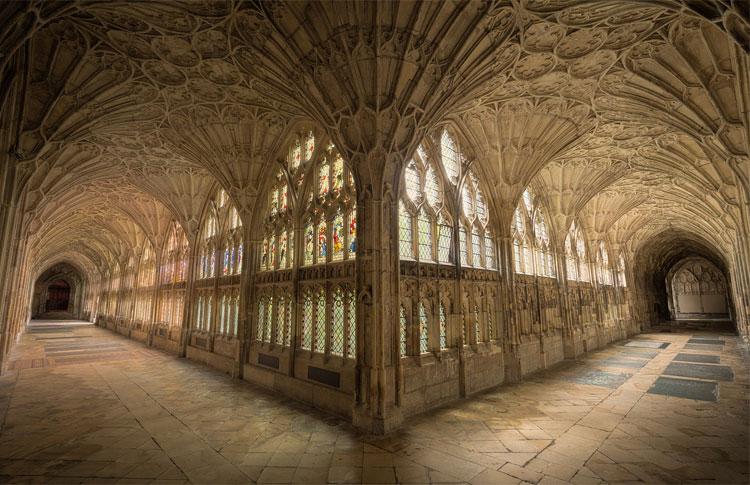 Drehort Hogwarts, Gloucester Cathedral