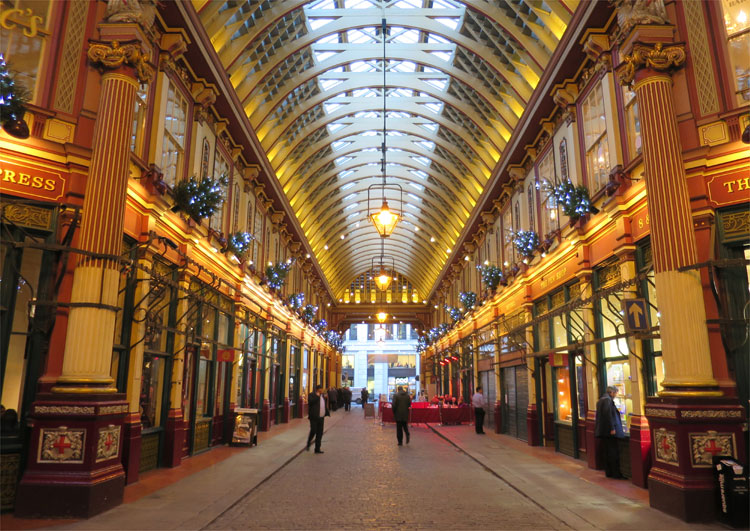 Leadenhall Market, London © Andrea David