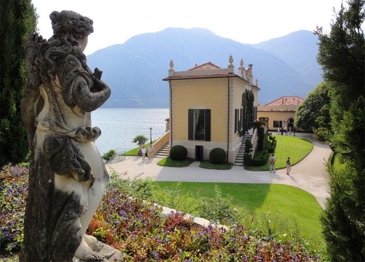 Villa del Balbianello, Comer See