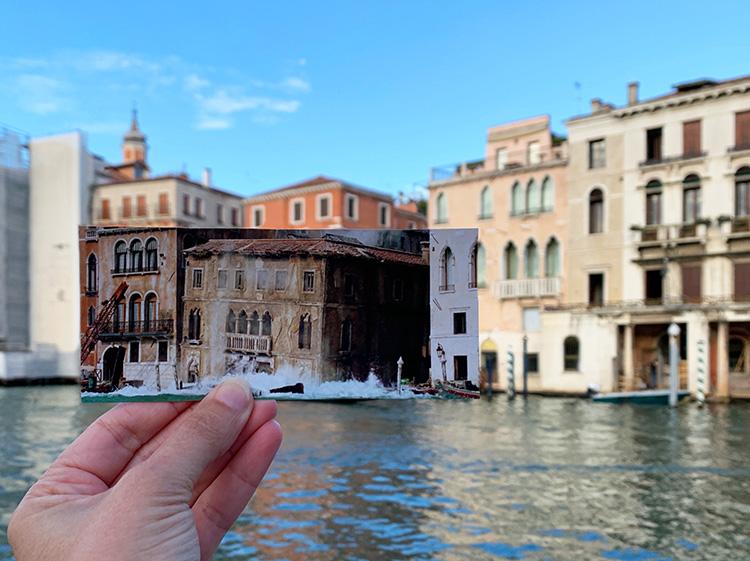 """Casino Royale""-Drehort Canal Grande, Venedig"