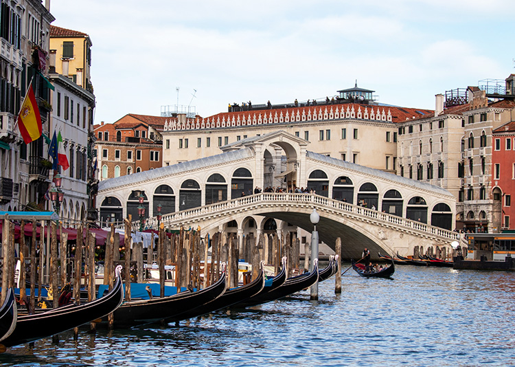 Rialtobrücke, Canal Grande, Venedig