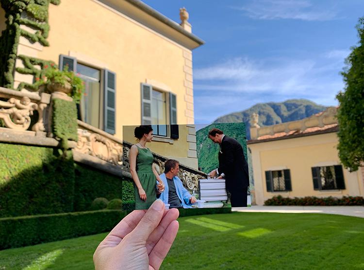 """""""Casino Royale""""-Drehort Villa del Balbianello, Comer See"""