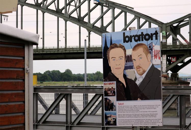 """Tatort""-Stadt Köln © Andrea David"