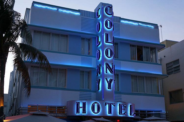 The Colony Hotel, Miami, Florida