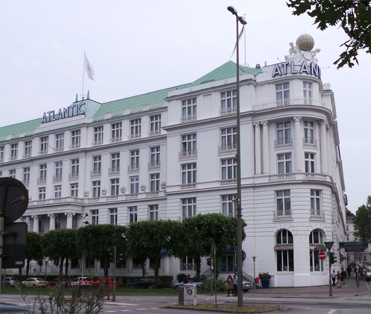 Hotel Atlantic, Hamburg © Andrea David