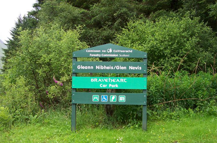Braveheart Car Park, Glen Nevis, Schottland © Caroline Gruhler