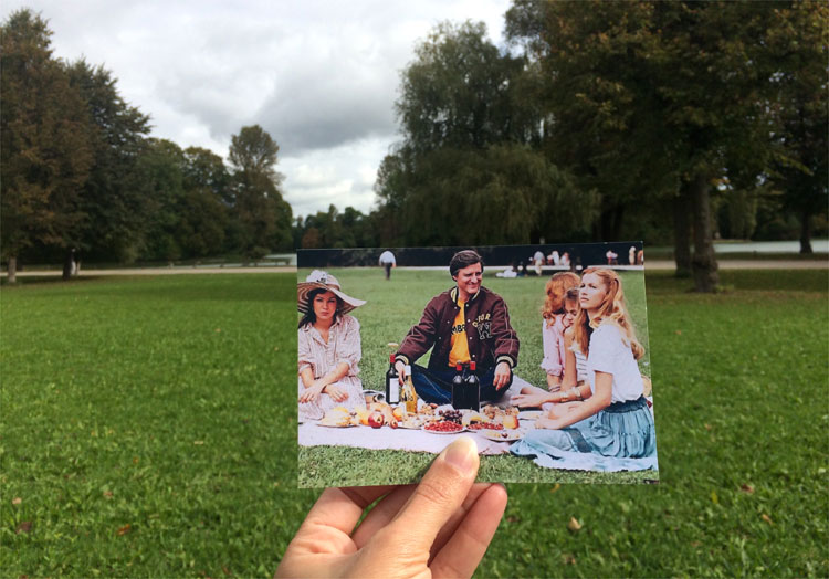 """""""Monaco Franze"""" im Englischen Garten beim Kleinhesseloher See, München"""
