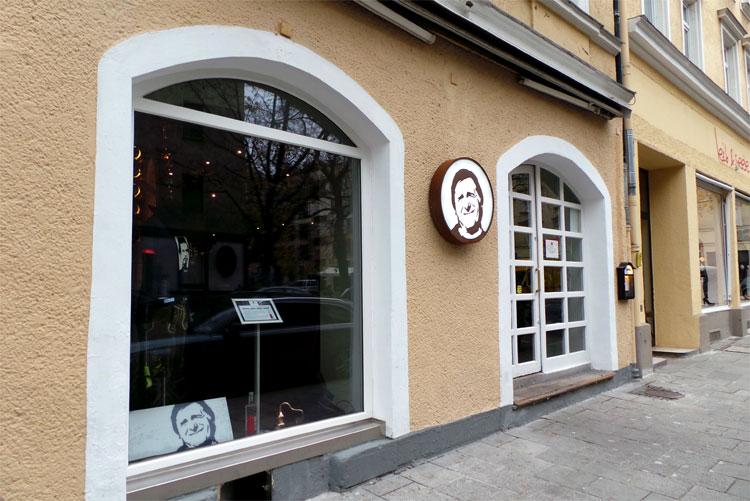 Franz Münchinger Shop, Occamstraße, München © Andrea David