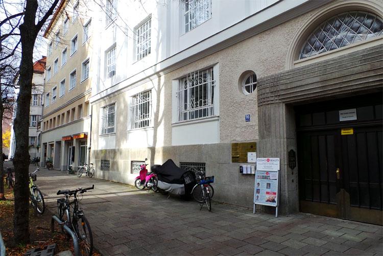 """Die Wohnung von """"Monaco Franze"""", Agnesstraße 16, Schwabing, München © Andrea David"""