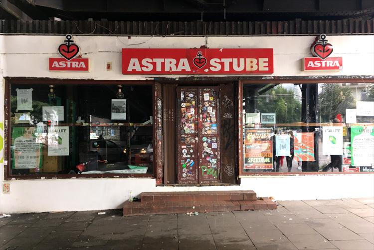 Die Astra Stube unter der Sternbrücke, Hamburg