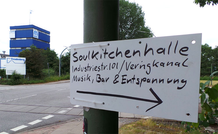 Soul Kitchen Halle, Hamburg © Andrea David
