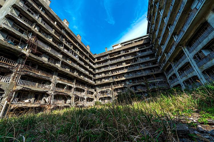 Skyfall-Drehort Hashima, Japan