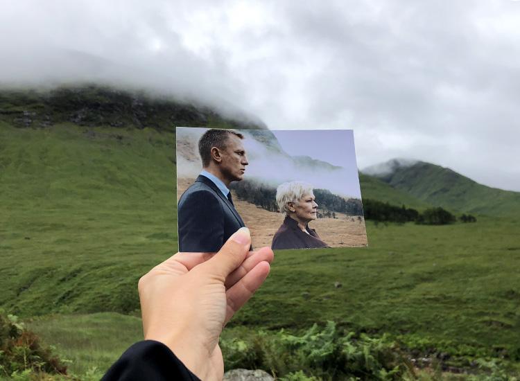 Skyfall-Drehort Glen Etive, Schottland