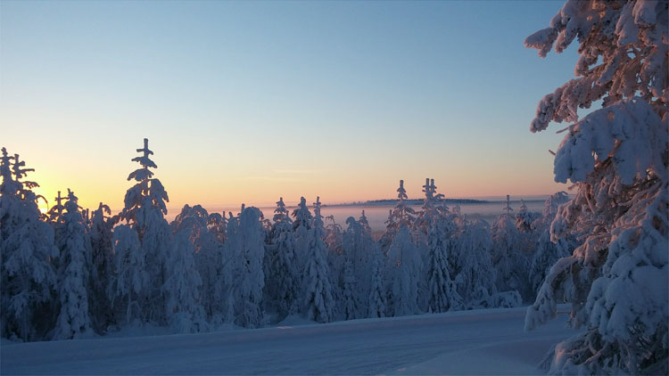 Kuusamo, Finnland
