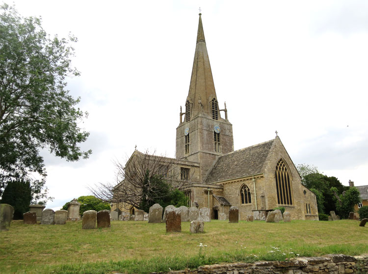 St. Mary's Church, Bampton, Oxfordshire, England © Andrea David