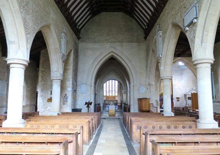 St. Mary's Church, Bampton, Oxfordshire, England © Andrea David