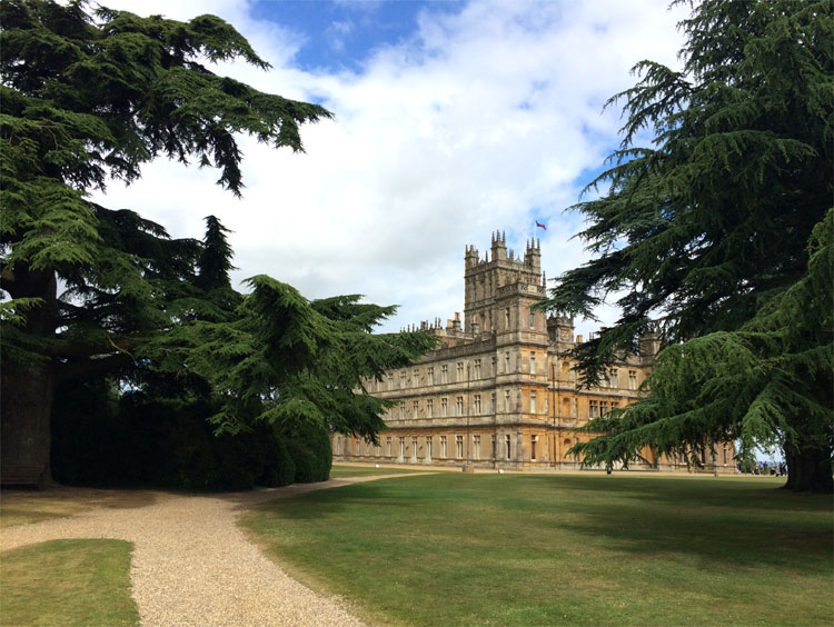Highclere Castle, Hampshire, England © Andrea David