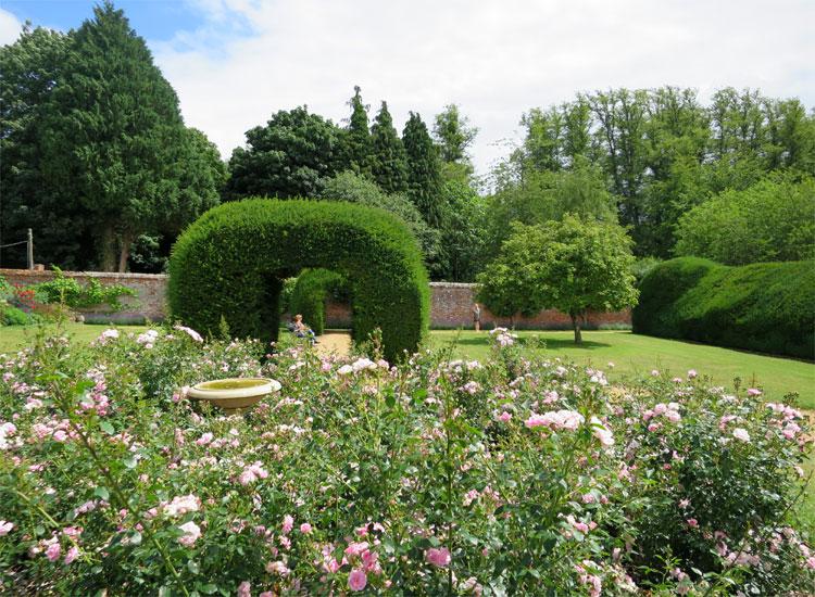 Secret Garden, Highclere Castle, Hampshire, England © Andrea David