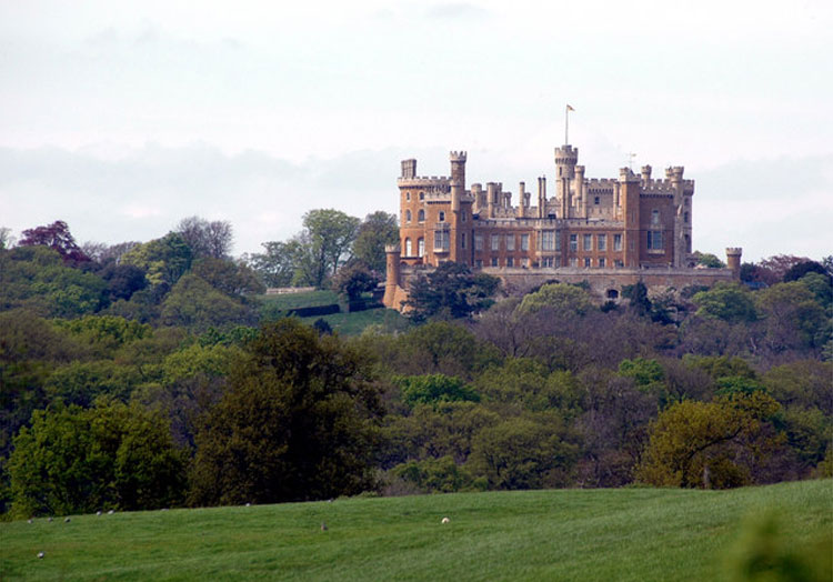 Belvoir Castle, Leicestershire, England © Carolyn Mansfield