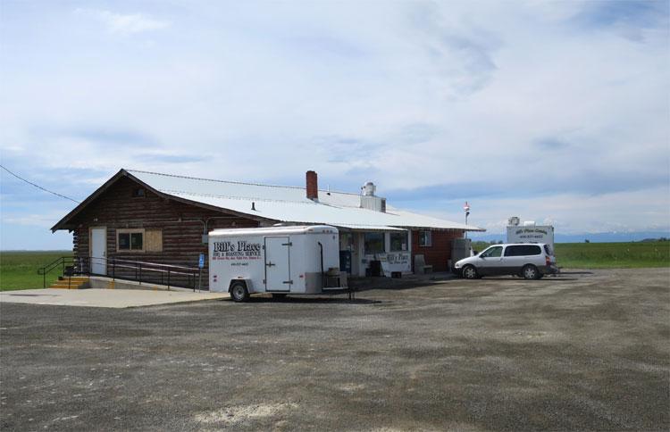 Bill's Place Diner, Mellville, Montana © Andrea David