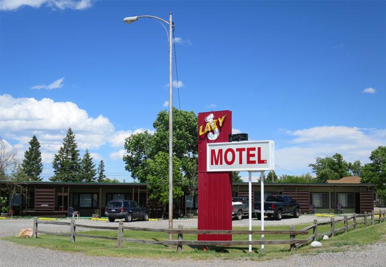 Lazy J Motel, Big Timber, Montana © Andrea David